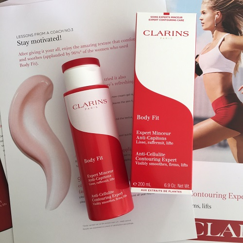 Clarins anti cellulite lotion