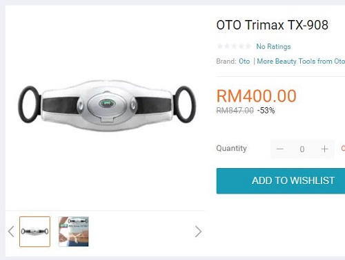 Oto Trimax 2