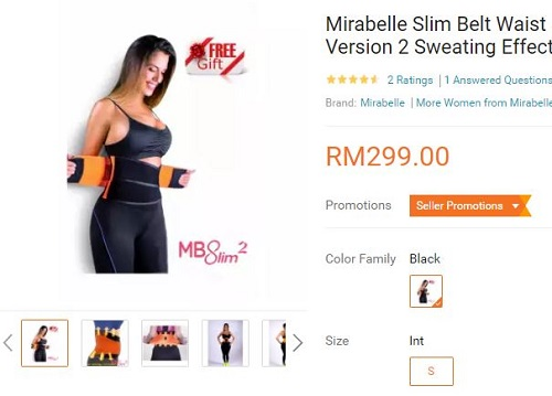 Mirabelle Slimming Belt