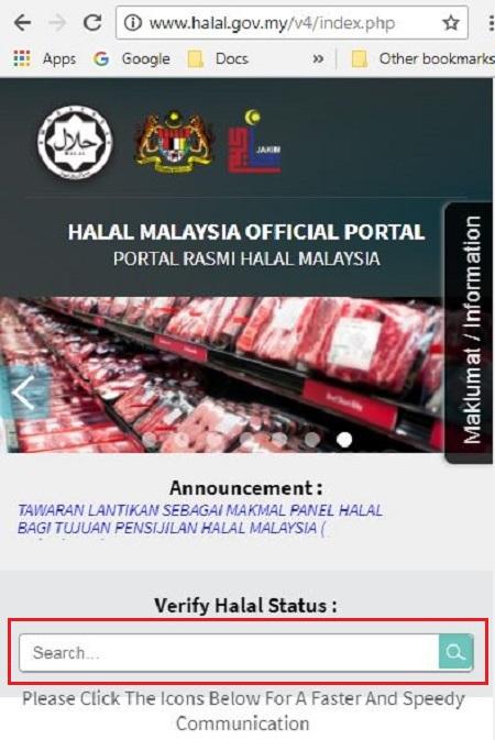 Halal Malaysia Portal