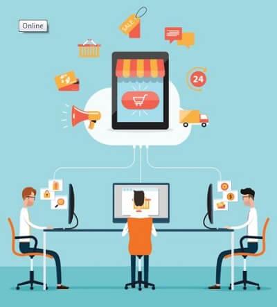 Laman e-commerce