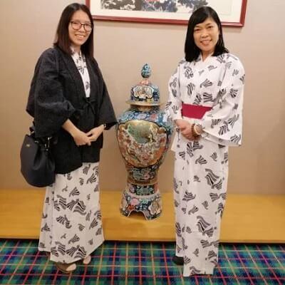 Me with Karen Leong