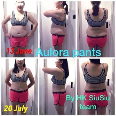 Slimming result