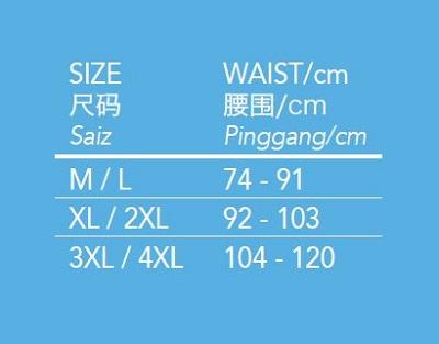 Aulora Boxer Size Chart