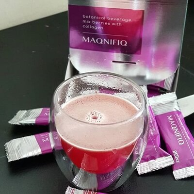 Maqnifiq collagen drink