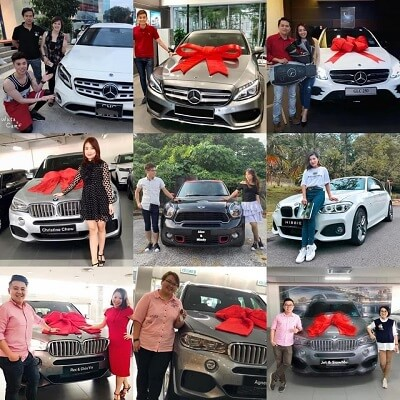 BE International Car Fund achievers
