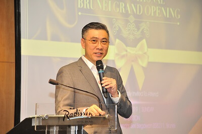 BE Brunei grand opening speech