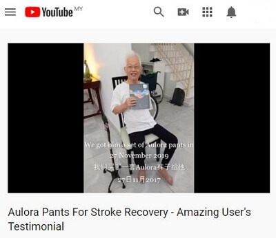 Stroke recovery video