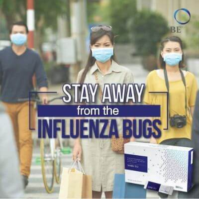 Influenza bugs stay away with Shiruto
