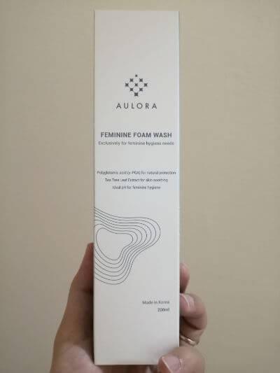 Aulora Feminine Foam Wash