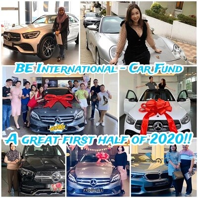 BE Car Fund achievers