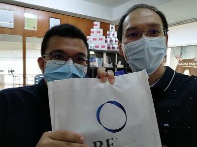 Meeting customer at Kepong BC