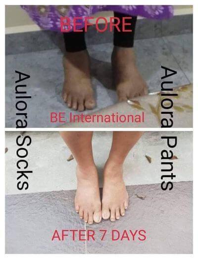 Aulora Pants and socks