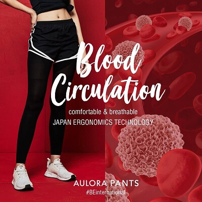 Aulora Pants improve blood circulation