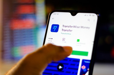 Transferwise application