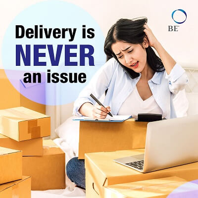 BE International solve delivery