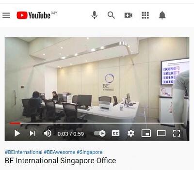 BE International Singapore