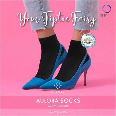 Aulora Socks with Kodenshi