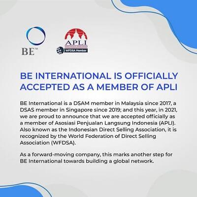 BE International APLI