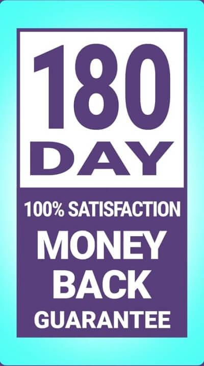 BioFit 180 day guarantee