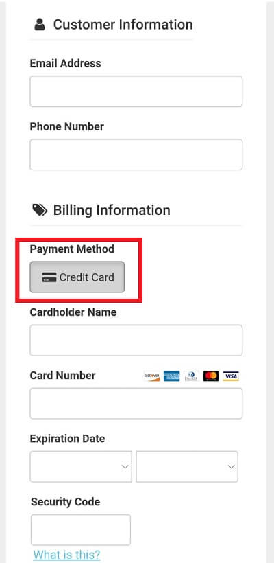 Dentitox payment option