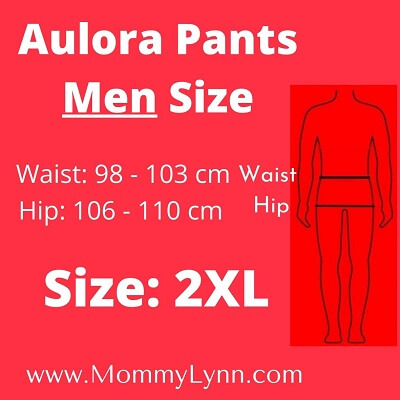 Aulora Pants Men Size 2XL