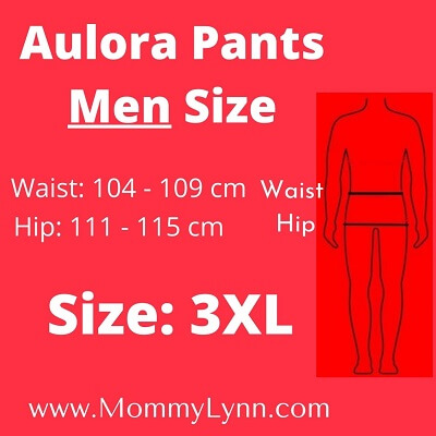 Aulora Pants Men Size 3XL
