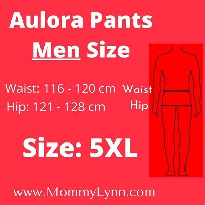 Aulora Pants Men Size 5XL