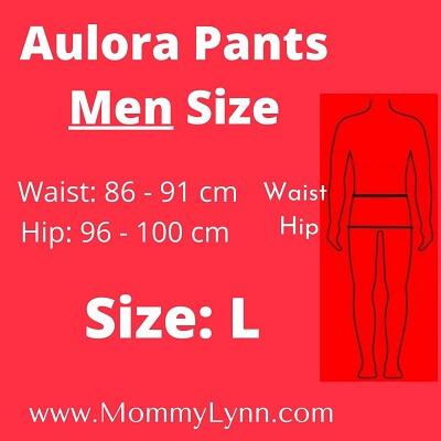 Aulora Pants Men Size L