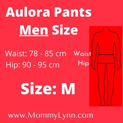 Aulora Pants Men Size M