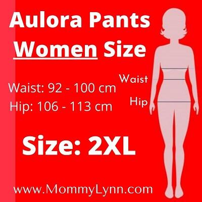 Aulora Pants Women Size 2XL