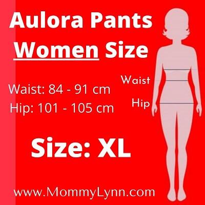 Aulora Pants Women Size XL