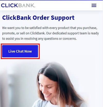 Clickbank Live Chat