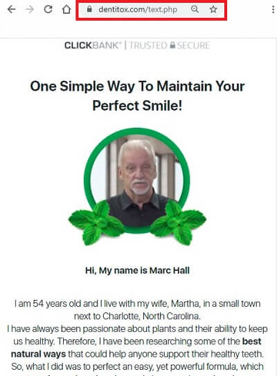 Marc Hall Official page