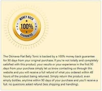 Okinawa Tonic Guarantee