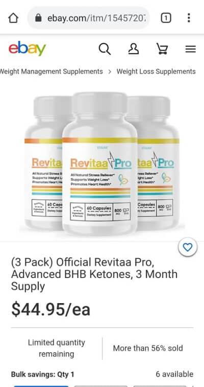 Revitaa Ebay