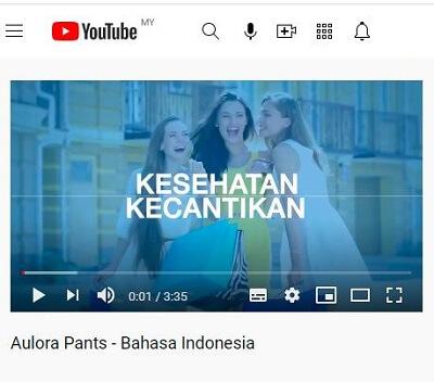 Aulora Pants Indonesia