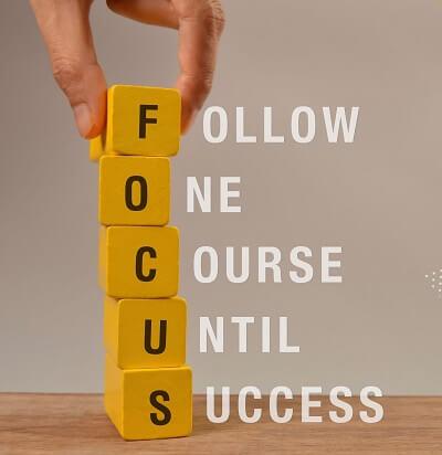 Follow the course