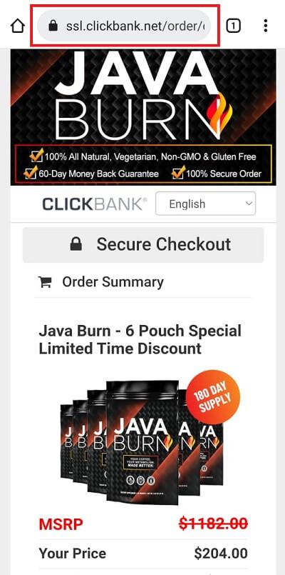 Java Burn Clickbank