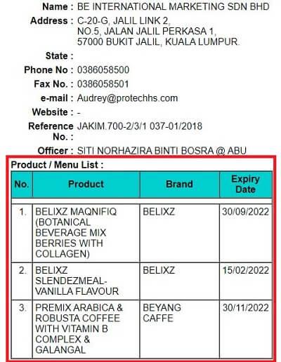 Maqnifiq collagen Halal certification