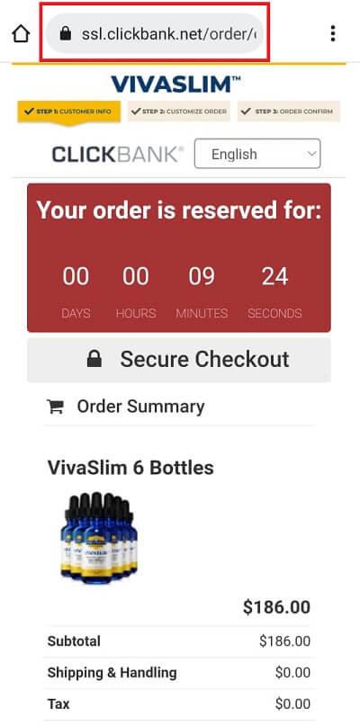 VivaSlim Clickbank